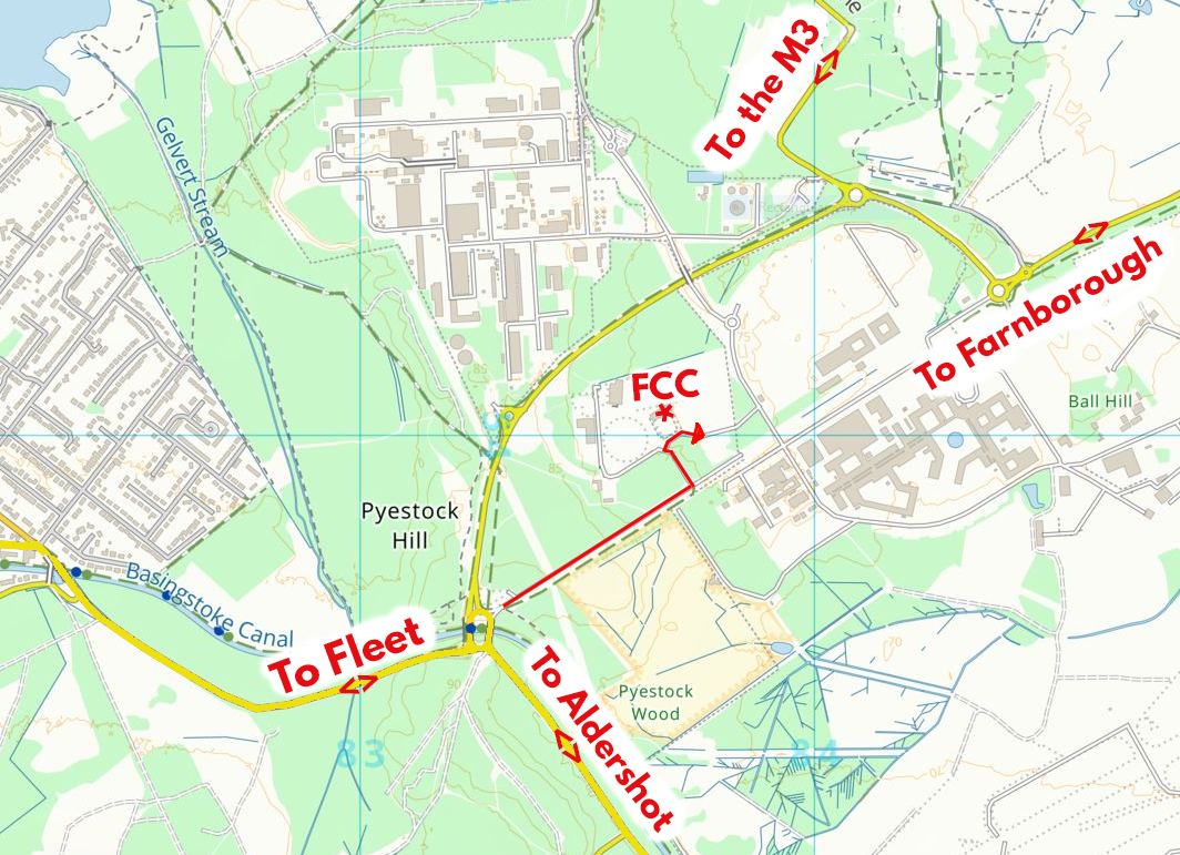 Overview map of CSSC